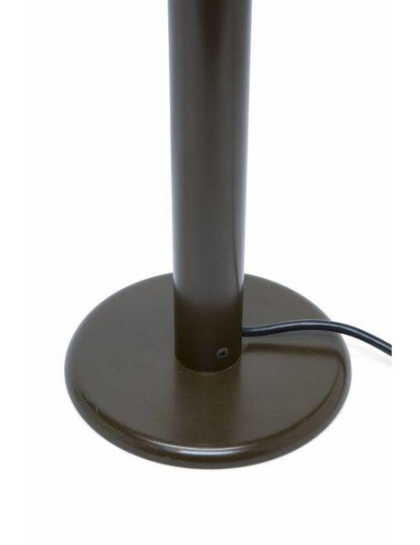 "Bureaulamp ""Haakse Hoek"", bruin"