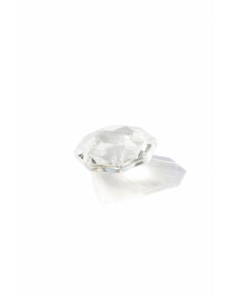 Glass bead for chandelier, inner star
