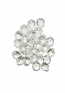 Strass Stones, Beads for Chandelier, 1.4 cm / 0.55 inch (bag of 10)