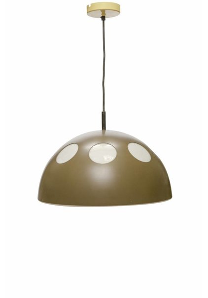 Pendant Lamp: 'El Duomo' in Brown-White