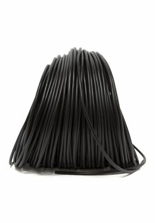 Lamp Wire, Black, Round