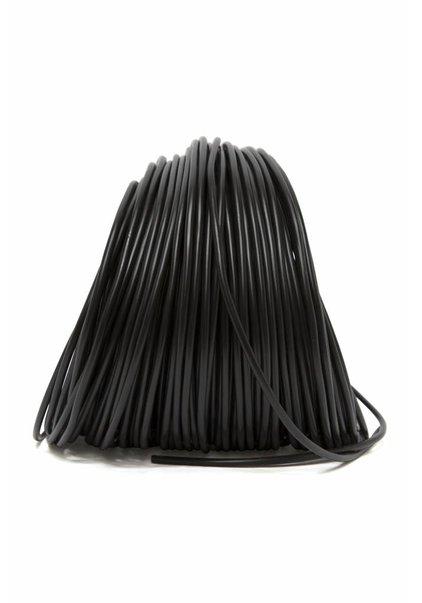 Lamp Wire, Black, Round