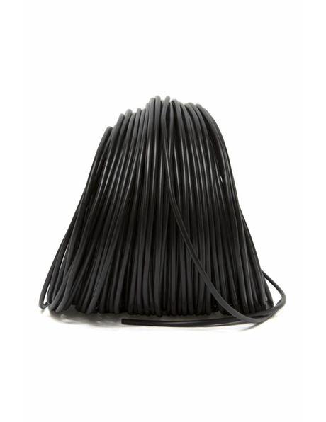 Lamp Cord, black, round, 2-core, 2x0.75