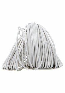 Lamp Wire, White, Round, 2-Core