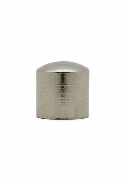 Afdekdop, Zilver, 1.2 cm, M10x1