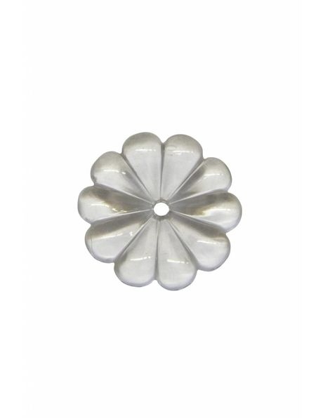 Chandelier parts, rosette, diameter: 3.5 cm / 1.4 inch