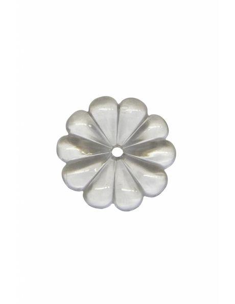 Luster onderdelen, rozet, 3.5 cm diameter