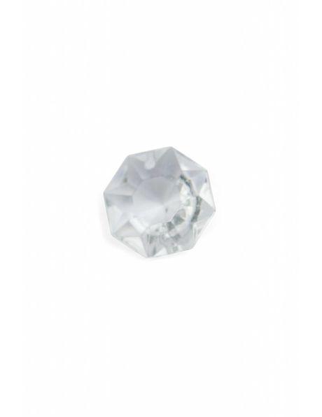 Kroonluchter glas, octagon, klein, 0.7 cm