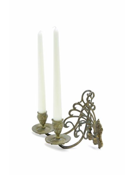 Piano candlestick can also be mounted on the wall, from the 1930s