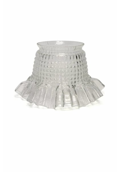 Small Glass 'Skirt Lampshade', 1930s
