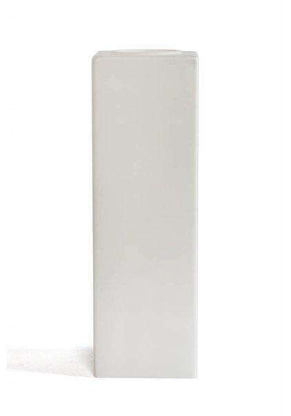 Vierkant Lampenkapje, Melkwit Glas