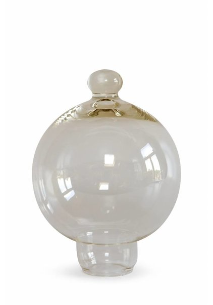 Spherical Clear Lampshade, 1970s
