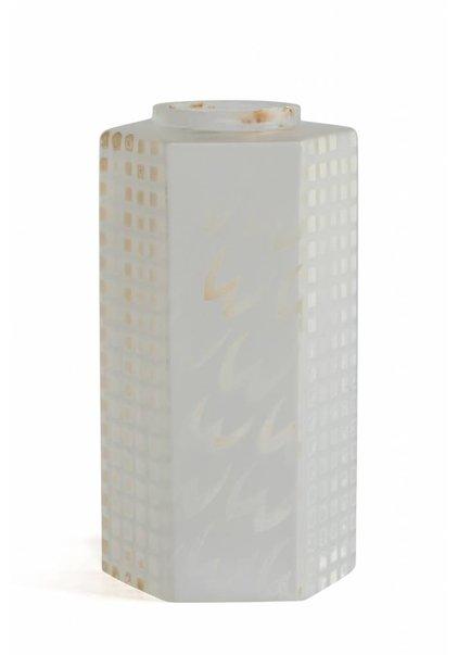 6-Kantig Matglazen Kapje, Hoog Model