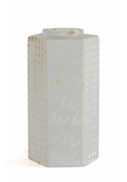 6-Sided Frosted Glass Lampshade, High Model