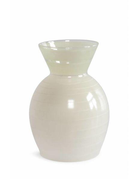 Mooi gevormde glazen lampenkap, ca. 1950