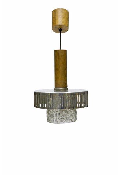 Kleine Hanglamp met Hout