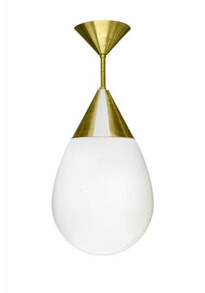 White Hanging Lamp, Philips Style