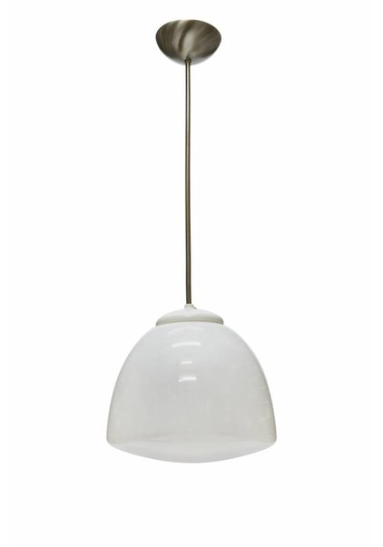 White Pendant Lamp: 'Tulip'