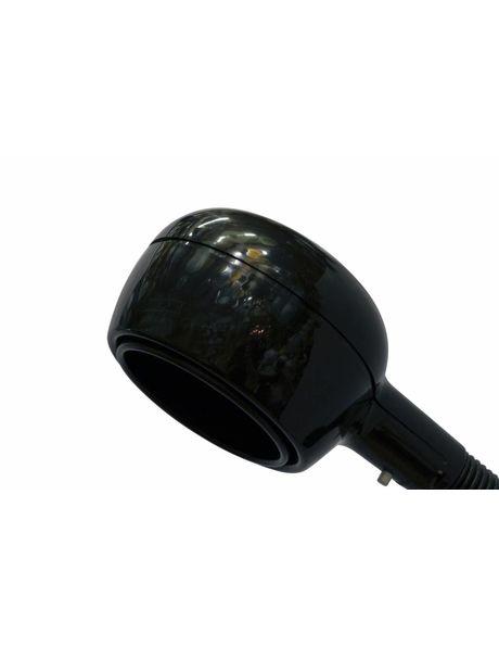 Wandlamp, zwart, jaren 60