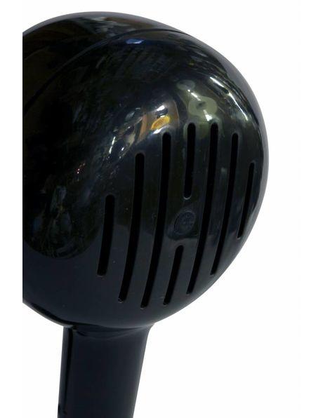 wall lamp, black, 1960s
