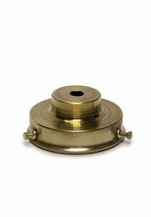 Lampshade Holder, Brass, Stair Shape Model, Diameter: 9.0 cm / 3.5 inch