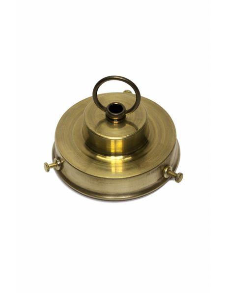 Lamp Shade holder, stair shaped model, internal handle (grip): 8.5 cm / 3.35 inch