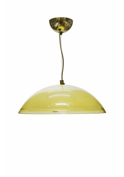 Pendant Lamp, Brown Perspex
