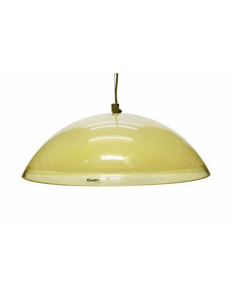 Grote hanglamp van perspex, Italiaans design, ca. 1960