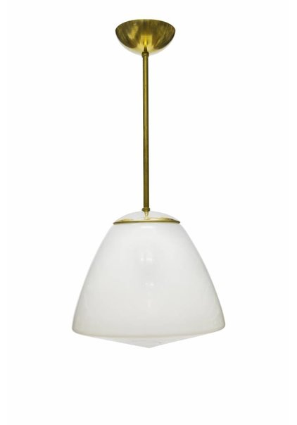 Pendant Lamp, Gold Coloured Pendulum
