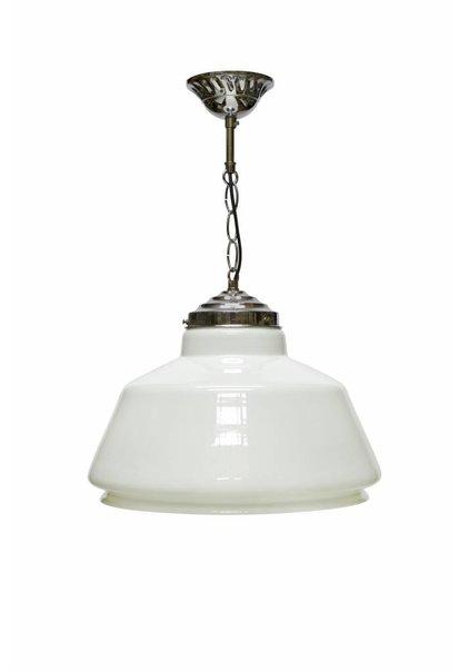Hanglamp,  Opaalglazen Lampenkap