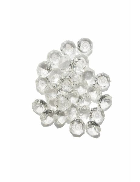 Chandelier bead octagon (small) 1.0 cm / 0.39 inch