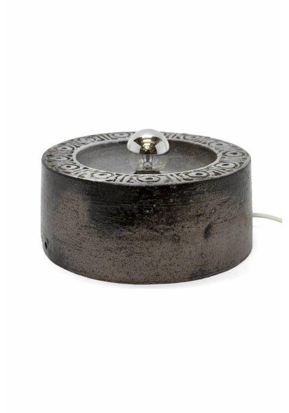 Table Lamp, Ceramic Brown