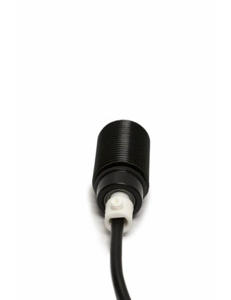 Cord Grip (Strain relief), made of transparent plastic, suitable for power wires with max 8mm / 0.3 in diameter