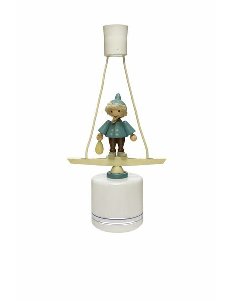 Playful hanging lamp for the children's room, 1950s