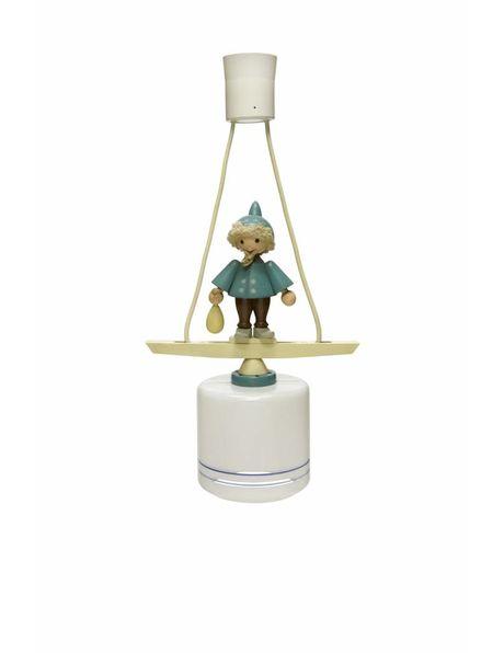 Speelse hanglamp voor in de kinderkamer, ca. 1950
