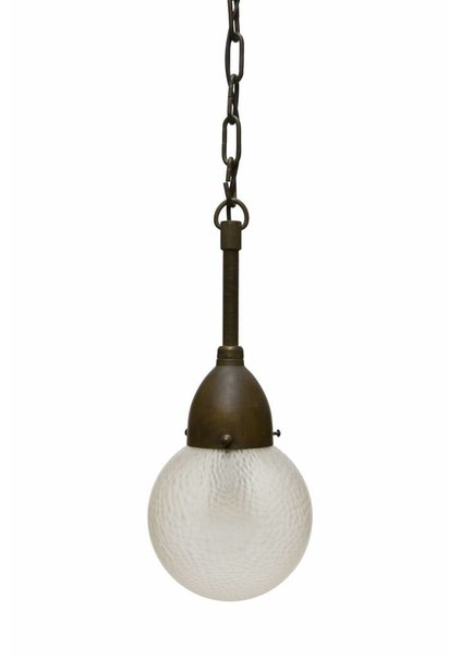 Hanglamp Bol, Matglazen Kap