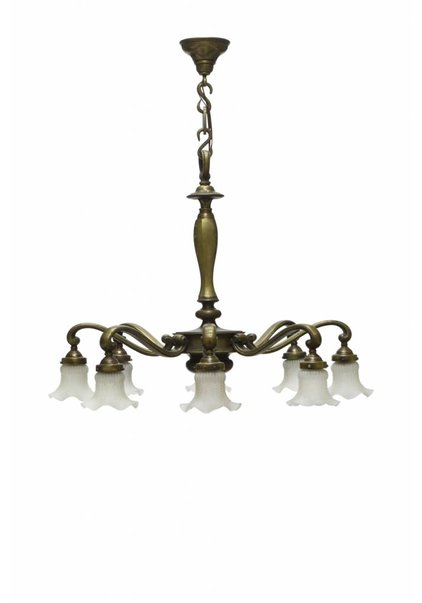 Large Pendant Lamp, Bronze