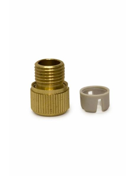 M10 Strain Relief, Brass, for in a Fitting with M10x1