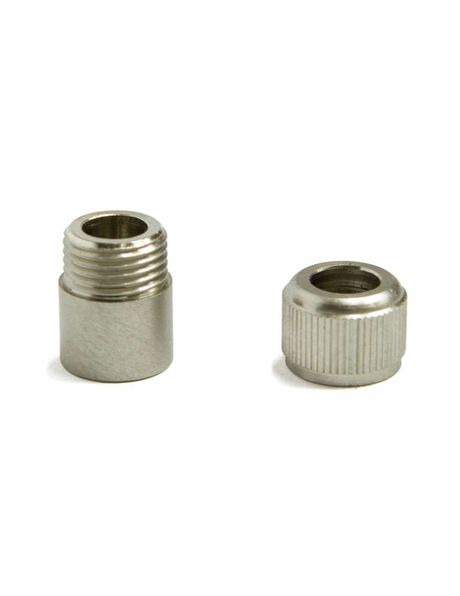 Cord grip, silver colour (nickel), M10 thread