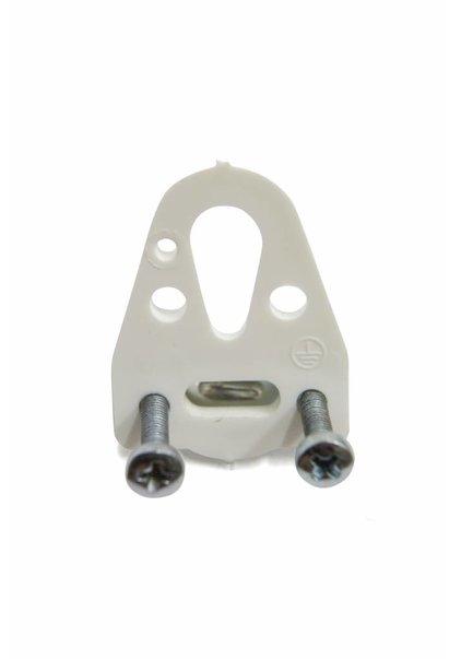 Hook Gripper, Plastic, White