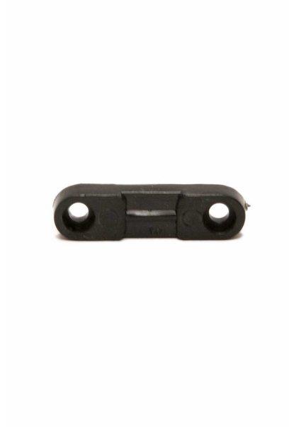 Platte Trekontlaster, hard plastic, zwart