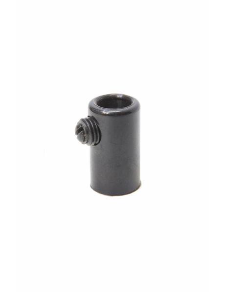 Trekontlaster, zwart kunststof, interne draad M10x1