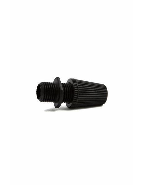 Strain Relief (Cord Grip) , black plastic, M10x1 external thread
