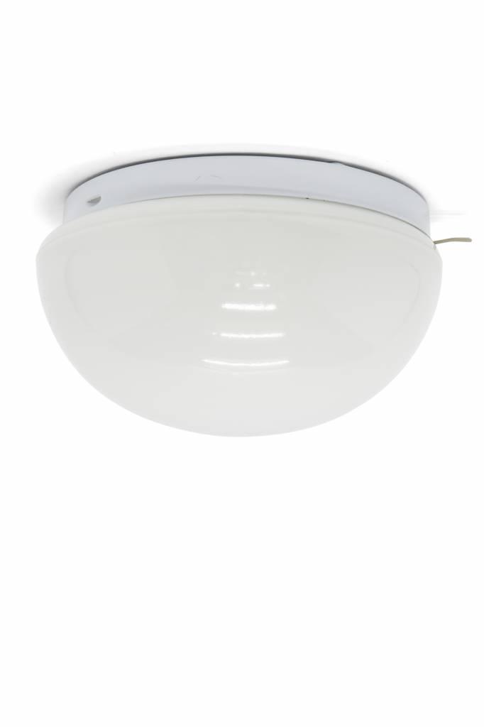 Keuken Plafondlamp Halve Wit Gekleurde Bol Ca 1950 Lamplord