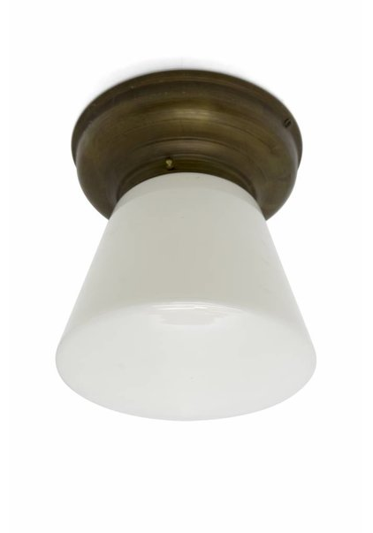 Robust Ceiling Lamp, Conical Lampshade
