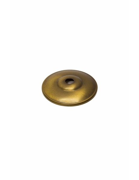 Cover Plate, antique brass, diameter: 6.5 cm / 2.6 inch, opening M10