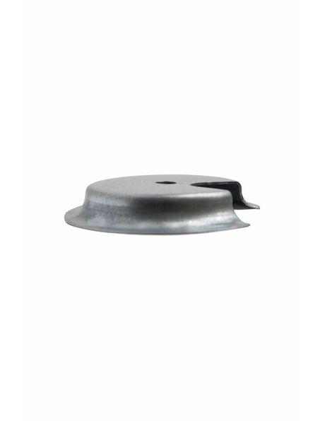 Glasdrager, 8.2 tot 9.0 cm greep, metaal