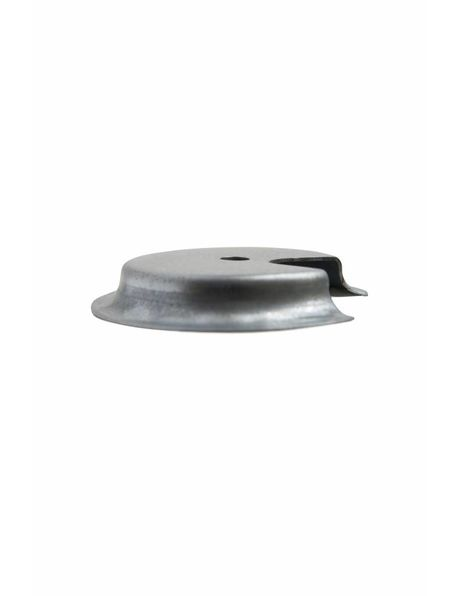 Support for Lamp Glass, metal disk, grip: 8.2 - 9.5 cm / 3.23 - 3.75 inch