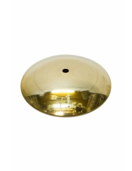 Brass cover plate, 14.5 cm / 5.7 inch diameter