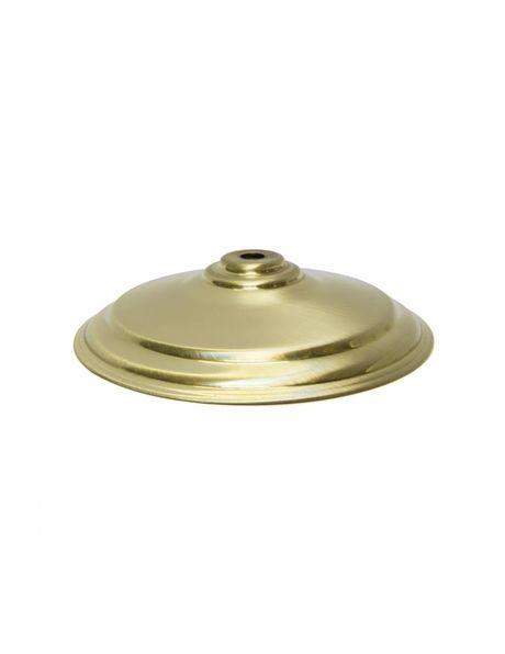 Afdekplaat voor lampglas, goud kleurig